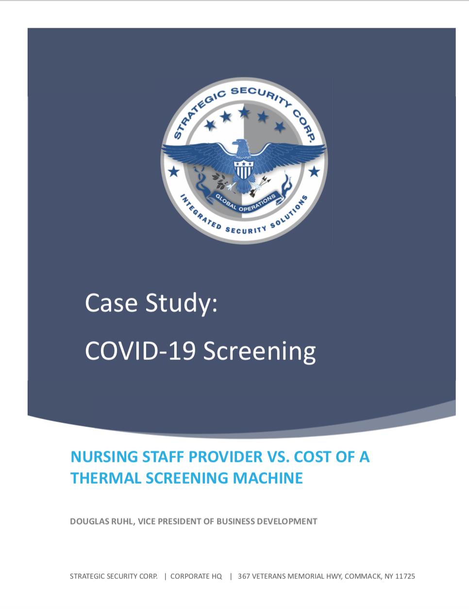 Case Study - Thermal Screening