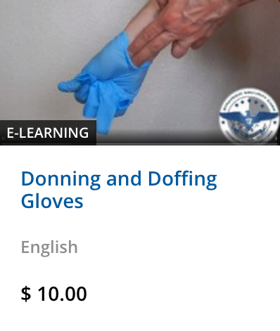 Donning and Doffing Gloves