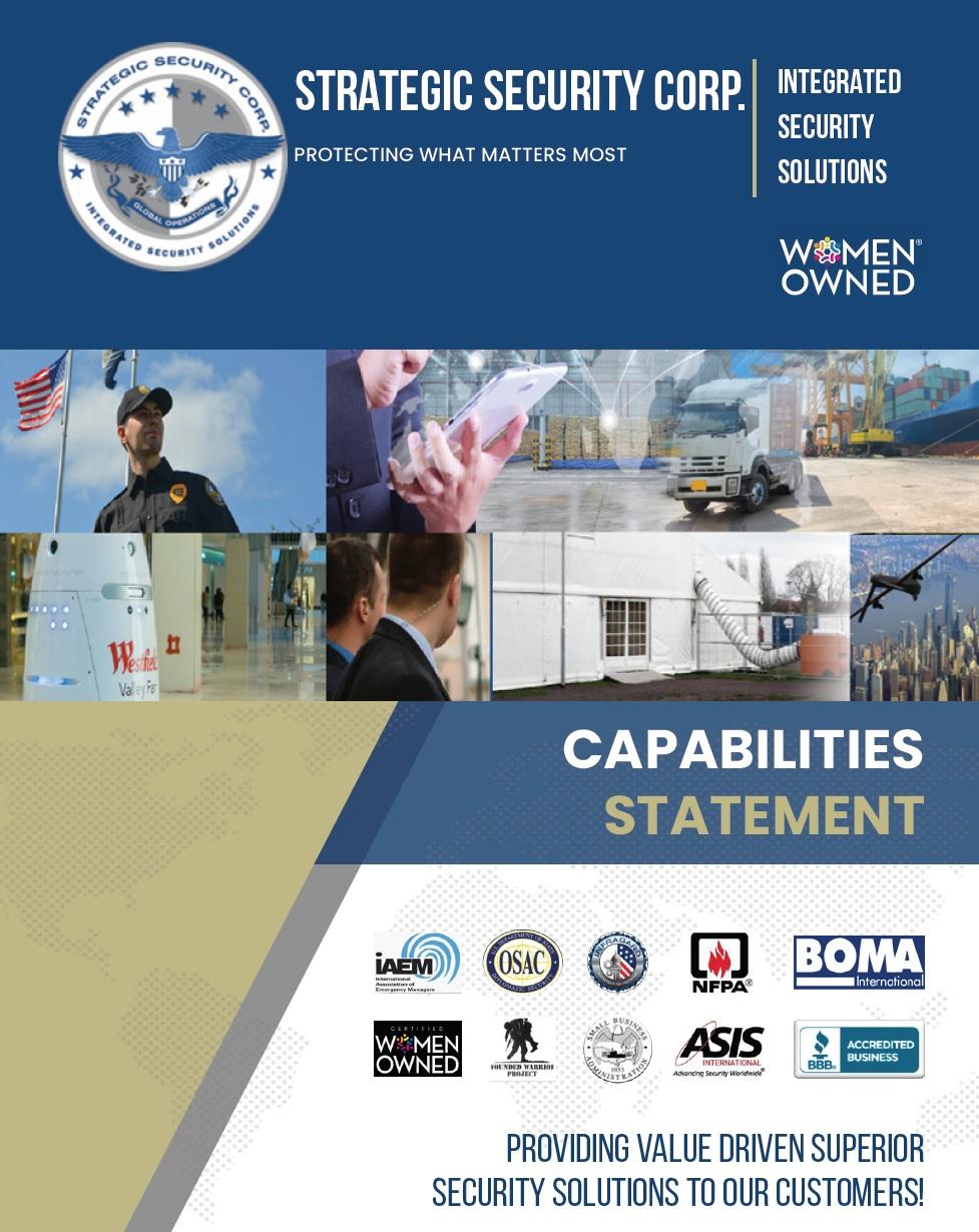 Security Capabilities Brochure