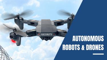 Autonomous Robots Drones Section
